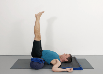 adding inversions to restorative poses  weekly