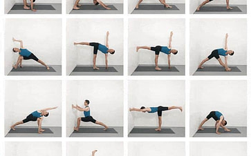 Iyengar Yoga Sequence Of Poses For Practice At Home Yoga Selection