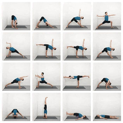 Iyengar Yoga Practice Sequence For Home