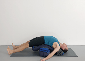 iyengar yoga restorative sequence  weekly intermediate