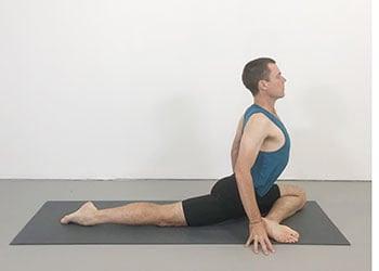 vinyasa iyengar sequence  weekly intermediate class 119