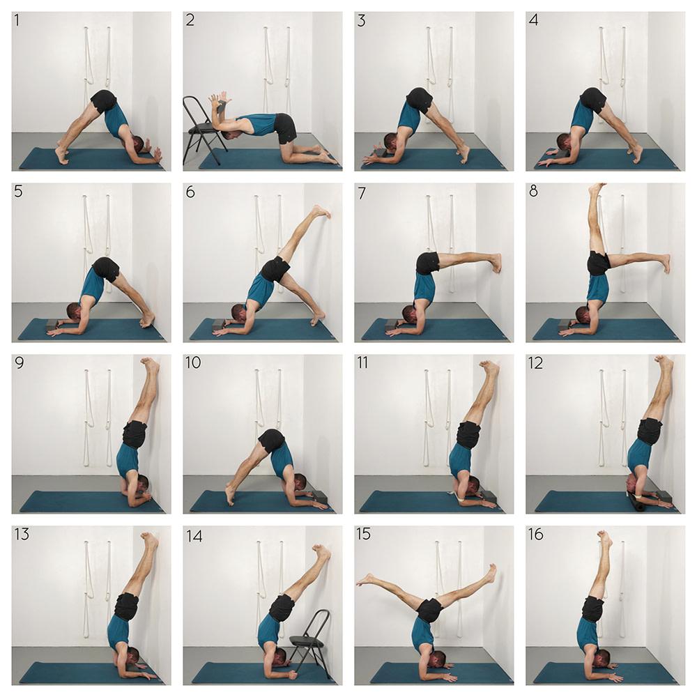 Pincha Mayurasana (Forearm Balance)