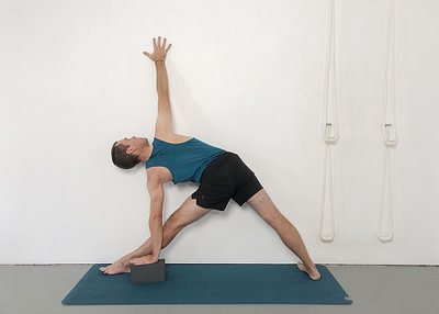 Yoga Poses Using a Wall