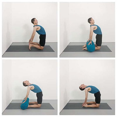 Four Stages To Learning Ustrasana (Camel Pose)