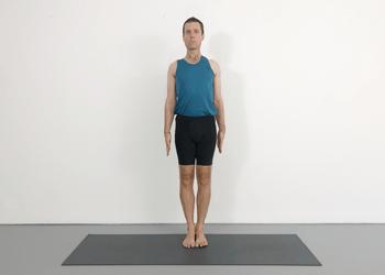 tadasana  mountain pose  yoga selection