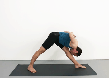 iyengar yoga standing pose sequence  weekly advanced