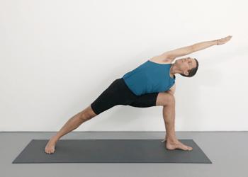 utthita parsvakonasana  extended side angle pose  yoga