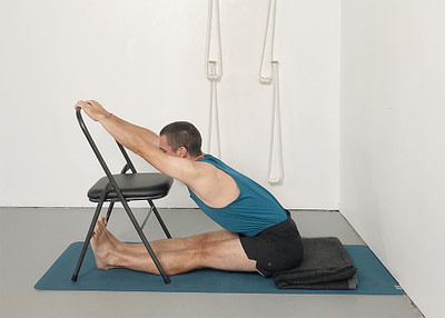 chair forward bends