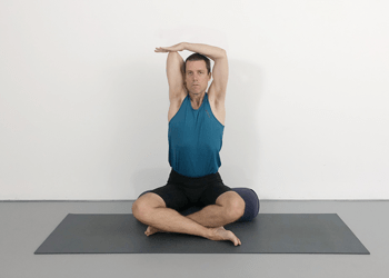 gomukhasana  cow faced pose  garadasana  eagle pose