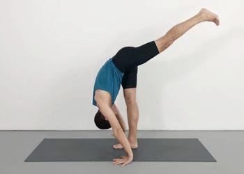 knees and standing forward bends  weekly intermediate