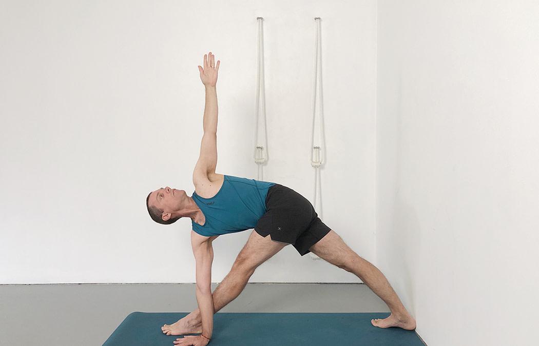 Parivrtta Trikonasana (Revolved Triangle Pose)