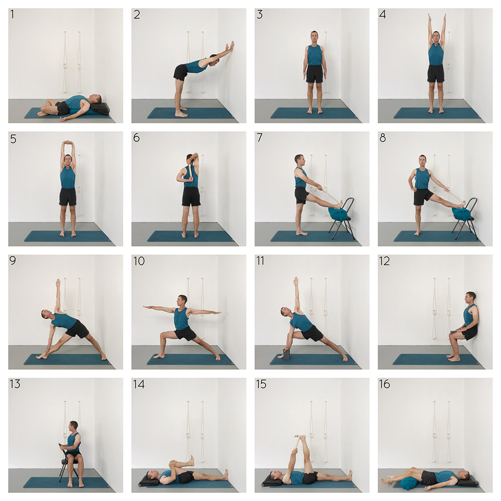 Yoga for seniors sequence
