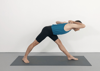 shoulder opening standing poses  weekly advanced class 41