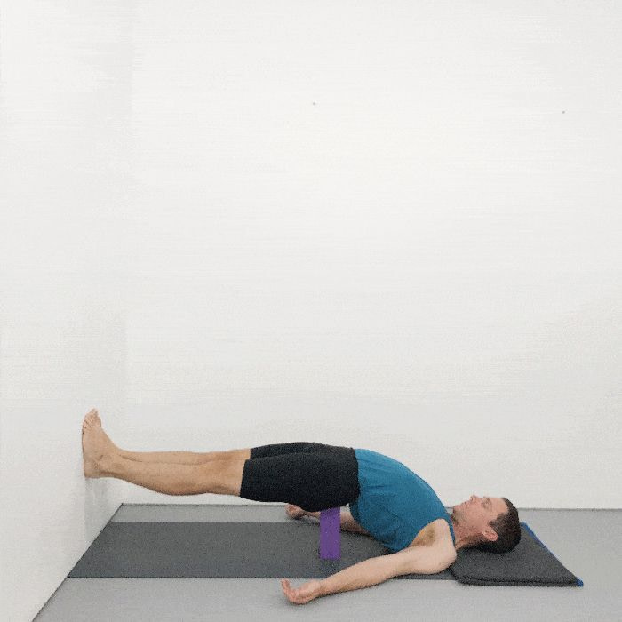 Setu Bandha Sarvangasana iyengar yoga pose