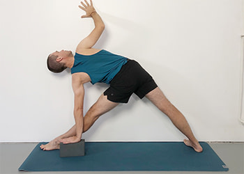 wall support yoga  weekly intermediate class 171  yoga