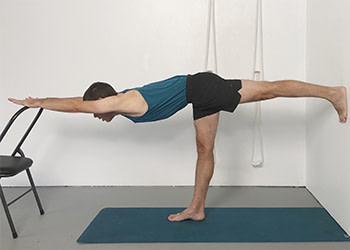 standing pose sequence