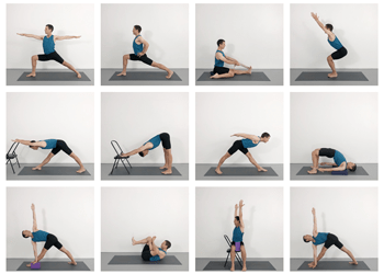 intermediate course  yoga selection
