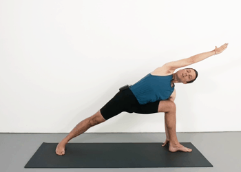 parsvakonasana sequence  weekly intermediate class 91