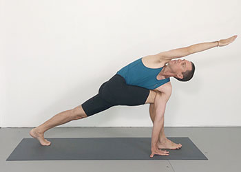 90 minute standing pose sequence  weekly advanced class
