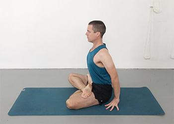 pathway to padmasana  yoga selection