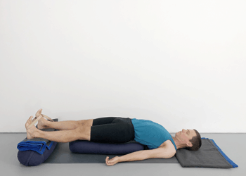restorative chest opening poses  weekly intermediate