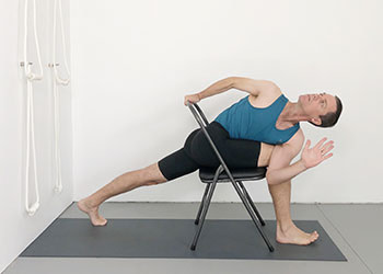 standing poses with supported inversions  weekly advanced