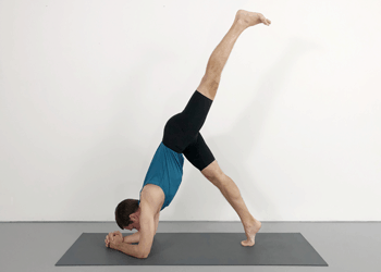 adding inversions to standing poses  weekly intermediate