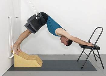 yoga rope poses for relieving lower back pain  weekly