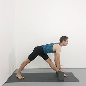 parsvottanasana  iyengar yoga pose