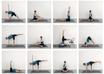 intermediate pose library  yoga selection