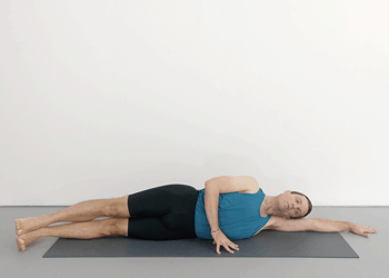 reclining shoulder poses  weekly intermediate class 54